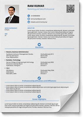 smart resume builder smart and balanced resume template utpal