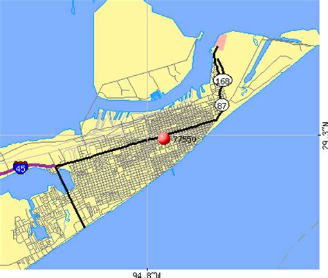 galveston texas zip code map 77550 zip code galveston texas profile homes apartments schools population income