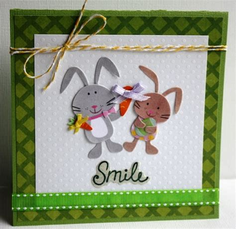 Easter Handmade Crafts - handmade easter cards for family