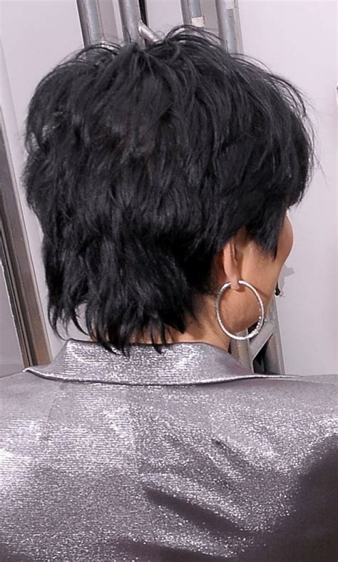 Kris Jenner Haircut Back View | kris jenner short tapered haircut back view hairstyle