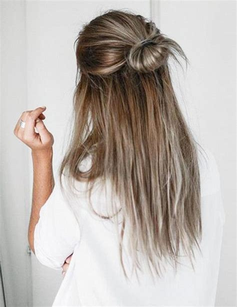 hairstyles you put your in 25 best ideas about half up bun on pinterest half bun