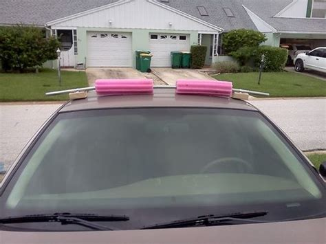 Pool Noodle Roof Rack by Pin By Tom Butler On Make