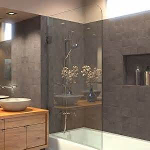 bathtubs with shower doors ark showers frameless bathtub shower screen pivot door