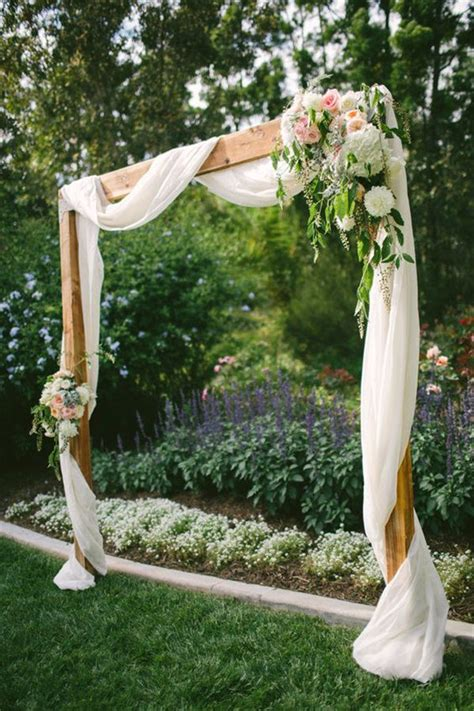 Backyard Photography Ideas by 20 Diy Floral Wedding Arch Decoration Ideas