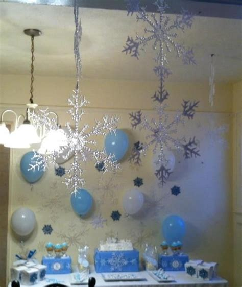 snowflake themed decorations 25 best ideas about snowflake birthday on