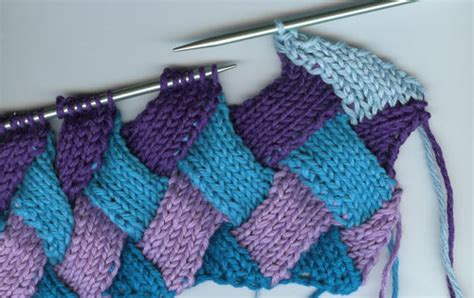 entrelac knitting tutorial entrelac knitting tutorial and patterns stitch n purl