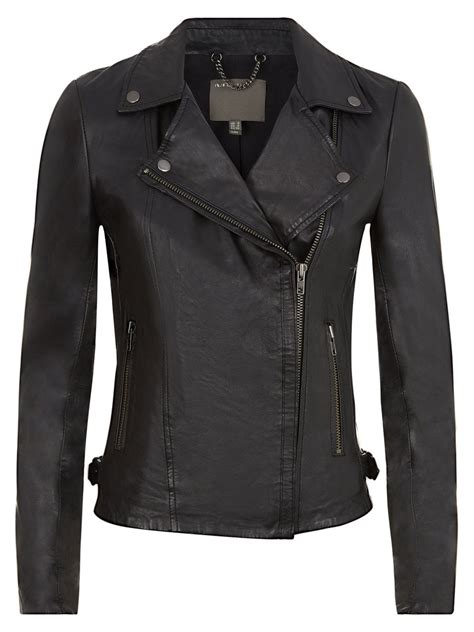muubaa leather jackets muubaa rosario black leather biker jacket
