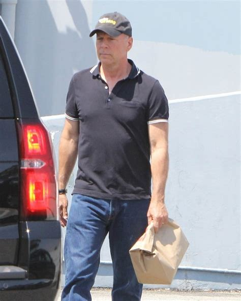 Is Bruce Willis Going Out With by Bruce Willis Heads Out And About In Los Angeles Zimbio