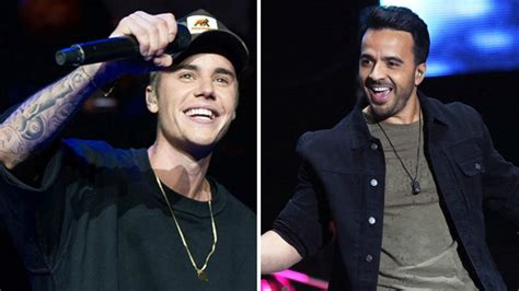 despacito singer justin bieber joined by luis fonsi on stage to perform