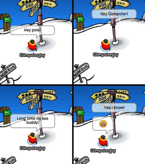 Club Penguin Memes - club penguin memes c0mputerguy returns episode 4