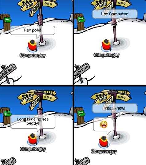 Club Penguin Meme - club penguin memes c0mputerguy returns episode 4