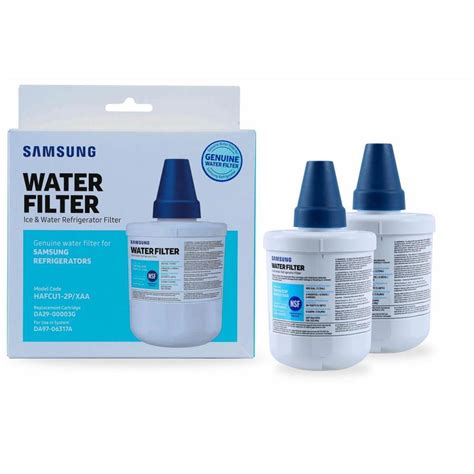 samsung refrigerator filter shop samsung 2 pack 6 month refrigerator water filter at lowes