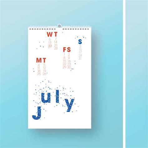 typography calendar typographic calendar betsy escobar design portfolio