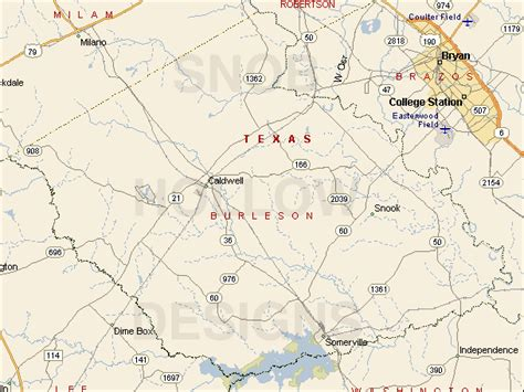 burleson county texas map burleson county texas color map