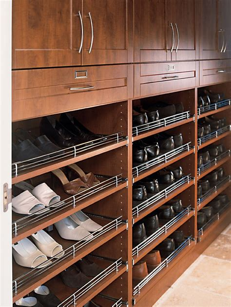 sliding shoe storage 17 best images about closet accessories on