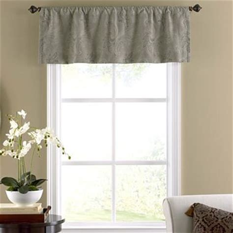 tailored valances for living room annika rod pocket tailored valance jcpenney living room valances and pockets