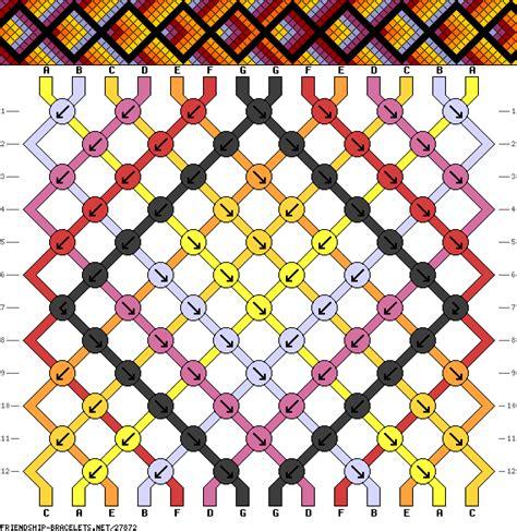 Macrame Net Pattern - 27872 friendship bracelets net