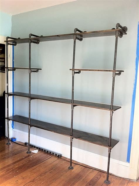 1000 Images About Pipe Shelving Ideas On Pinterest Plumbing Pipe Bookshelves