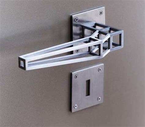 design house brand door hardware minimalist linear latches door handle design