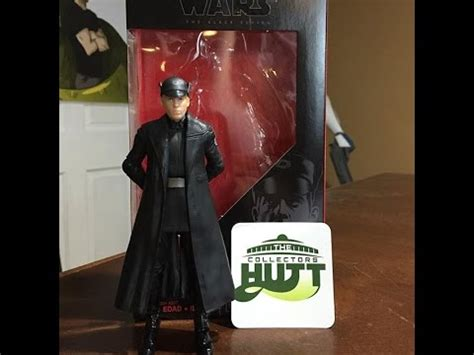 Wars The Awakens Basic Figure General Hack Hux wars the awakens general hux the black series figure review