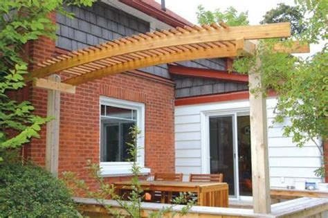 how to build an arched pergola archedpergola 1