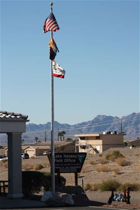 Lake Havasu Post Office by Because You Asked Why Does California S Flag Fly
