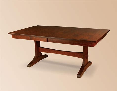 Trestle Dining Room Table by Amish Dining Room Trestle Tables