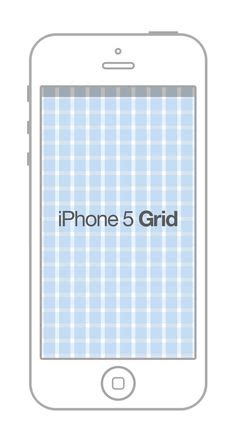 iphone layout grid iphone 5s case template psd mockup free pinterest 5s