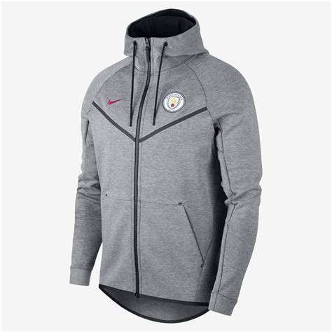 Vest Hoodie Manchester City Fc 03 nike manchester city fc tech fleece windrunner jacket clothes hoodies sporting goods sil lt