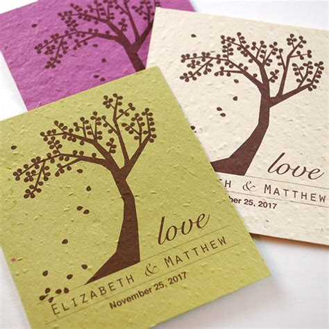 Wedding Favors Seeds by Plantable Celebration Grow Favor Plantable Seed