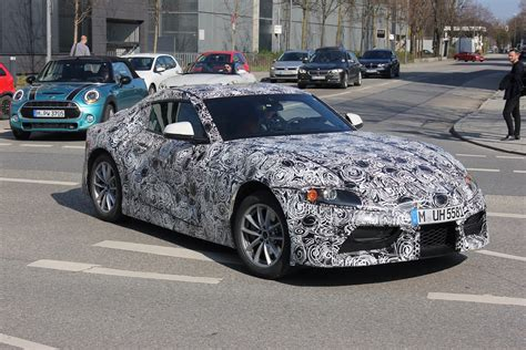 next bmw z4 spotted testing in munich along with supra
