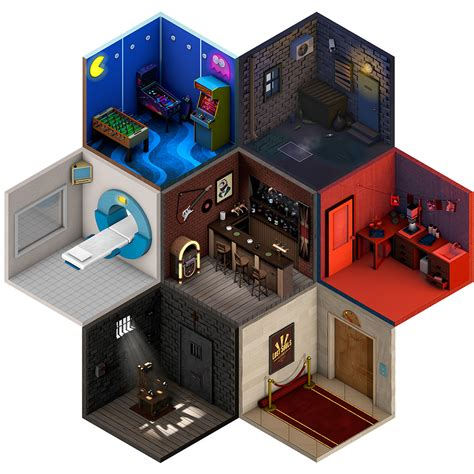 Home Interior Design Games Online these low poly isometric artworks feature miniature rooms