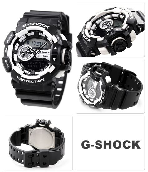 Casio Gshock Ga 400 1a Up2date new casio g shock mens ga 400 1a black white