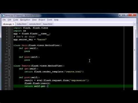 tutorial python flask python flask tutorial part 3 login youtube