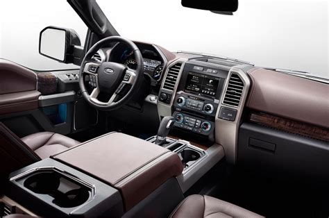 Ford F150 Interior by 2017 Ford F 150 Platinum 2017 2018 Trucks