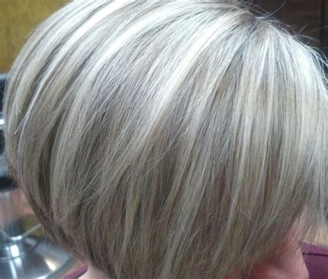 Pictures Of Highlights In Gray Hair | pix for gt gray hair highlights lowlights hair