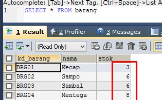 tutorial membuat trigger di mysql cara membuat trigger di mysql tutorial koding