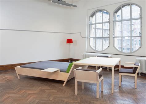 design milk bed small space solution bed ntable by erik griffioen