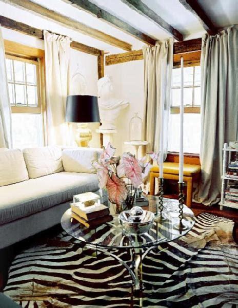 zebra rug living room zebra print rug interiors panda s house