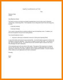 5 suspension letter to employee resume emails
