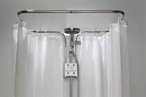 dusch vorhang clevershower duschvorhang halterung albert ohne bohren