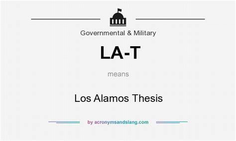 what does la t definition of la t la t stands