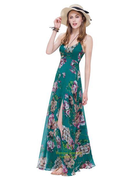 Spaghetti Maxi Lace Dress s spaghetti floral maxi dress side split