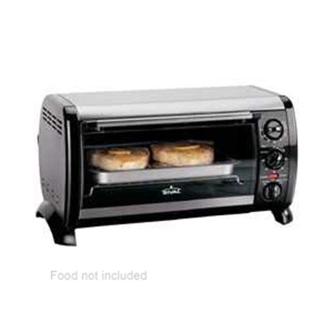 Rival Toaster Oven Rival T0600 Toaster Oven 6 Slice Bake Broil Toast