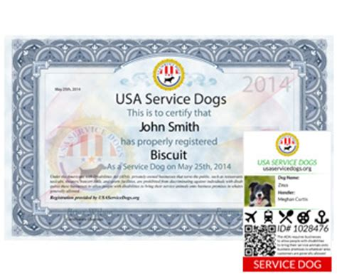 usa service registration service registration usa service dogs