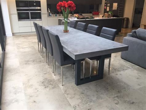 Concrete Dining Room Table by 1000 Ideas About Concrete Table On Concrete