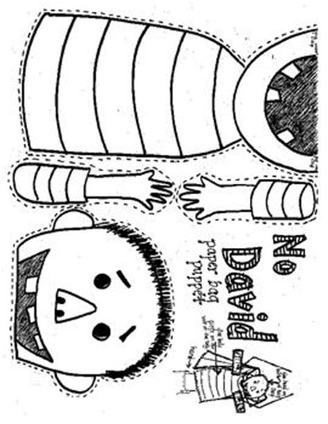 No David Puppet Search Bags And Lesson Plans No David Coloring Pages
