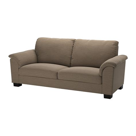 brown sofa tidafors sofa hensta light brown ikea