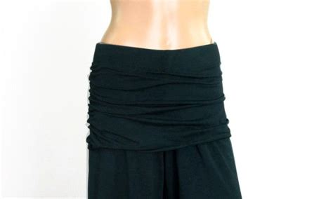 Yogo Skirt the kobieta ruched skirt smoke grey bamboo organic cotton blend ready to ship size s m
