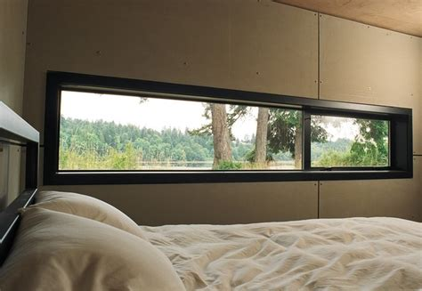 thin blinds for window port hadlock cabin modern bedroom seattle by